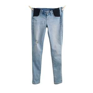 SIZE 4 OLD Navy Maternity Jeans Skinny Rockstar